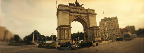 Walls 360 Peel & Stick Wall Murals: Soldiers And Sailors Memorial Arch (72 in x 26.75 ()