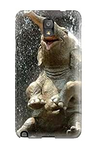 New Cute Funny Elephantand Screensavers Case Cover/ Galaxy Note 3 Case Cover