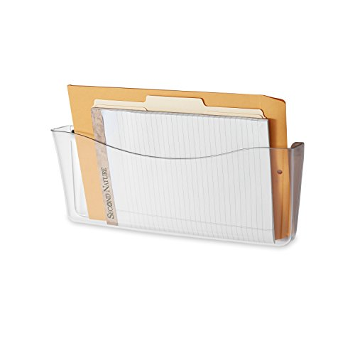 Rubbermaid Unbreakable Single Pocket Wall File, Legal Size, Clear (65980ROS) (Wall Plastic)