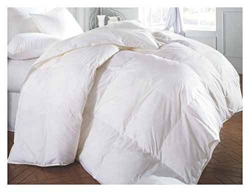 Perfect Home Collections Super Sale 100% Down Alternative Comforter(Full/Queen - White) Solid Quilted Comforter Hypoallergenic, Siliconized Fiberfill Duvet Insert (For Beds Sale Queen White)