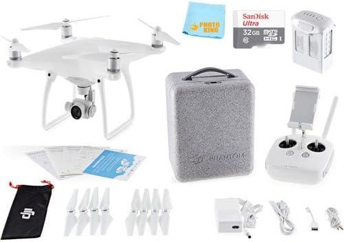 Amazon.com: DJI Phantom 4 Quadcopter Drone Aviones + Sandisk ...