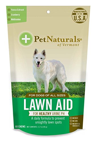 Pet Naturals of Vermont - Lawn Aid, Urine Balance Supplement for Dogs, 60 Bite Sized - Balance Aid