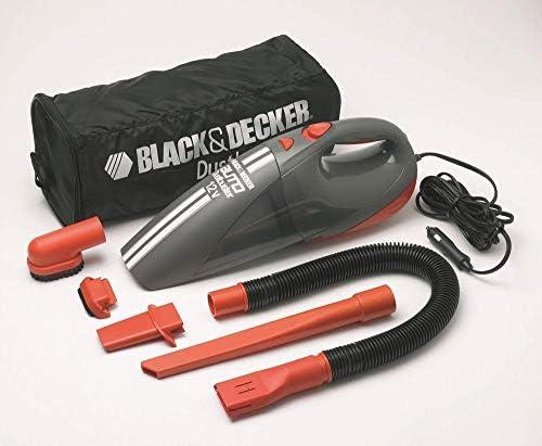 Black & Decker ACV1205-12V Cyclonic Auto Vac - Aspiradora (Secar, Sin bolsa): Amazon.es: Hogar