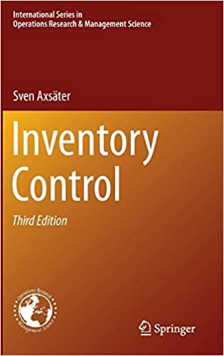 Inventory Control (International Series in Operations