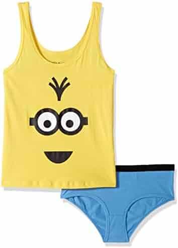 10b68b5bc6ecf Bioworld Girls  Big Despicable Me JRS. Underoos T-Shirt Brief Set