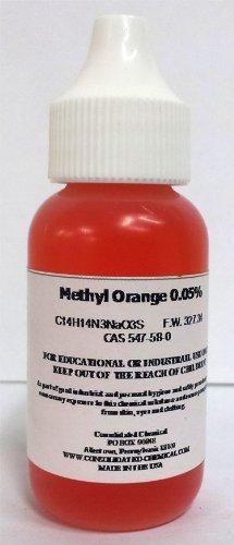 Methyl Orange 005 Ph Indicator 60ml