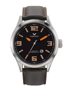 Viceroy 432037-95 - Reloj de caballero de cuarzo, correa de piel color negro