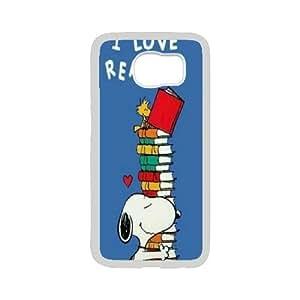 Steve-Brady Phone case Cute Snoopy For Samsung Galaxy S6 Pattern-16