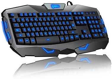 Delog luminoso Wired Gaming Teclado: Amazon.es: Informática