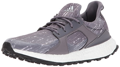 adidas Women's W Climacross Boost Golf-Shoes, Trace Grey/Grey Two Core Black, 9 M US by adidas