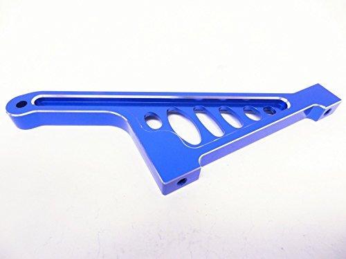 King Motor X2 CNC Aluminum Rear Chassis Brace (blue) Fits LOSI 5IVE T Rovan LT
