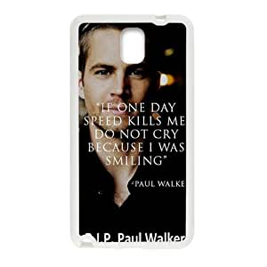 Paul Walker New Style High Quality Comstom Protective case cover For Samsung Galaxy Note3