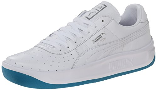 PUMA Men's GV Special Coastal Lace-Up Fashion Sneaker, Capri Breeze/White, 11.5 M US (Puma Gv Special Men White)