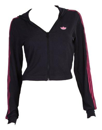 Sportjacke Training Adidas Kurz Premium Damen Kapuze O80wnNPkX