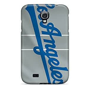 For BrnLRoon Galaxy Protective Case, High Quality For Galaxy S4 Los Angeles Dodgers Skin Case Cover