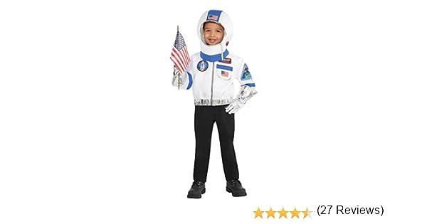 Astronauta Kit Niños Disfraces Espacio Nasa Uniforme Niños Niñas ...