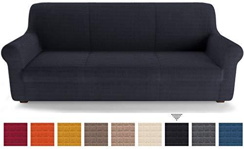 PETTI Artigiani Italiani Fundas de Sofa, Azul, 2 Plazas (130 a 170 cm)