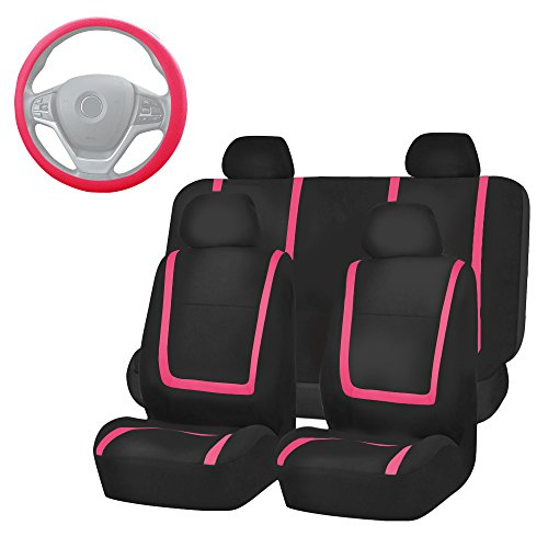 pink and black car accessories - 3
