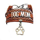DOLON Infinity Love Dog Mom Bracelet Coffee