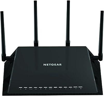 NETGEAR Nighthawk X4S - AC2600 4x4 MU-MIMO Smart WiFi Dual Band Gigabit Gaming Router (R7800-100NAS) Compatible with Amazon Echo/Alexa