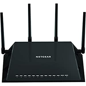 NETGEAR Nighthawk X4S AC2600 4x4 Dual Band Smart WiFi Router, Gigabit Ethernet, MU-MIMO, Compatible with Amazon Echo/Alexa (R7800)
