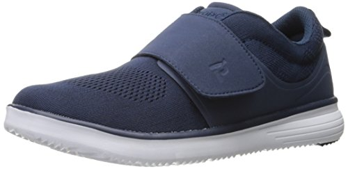 Image of the Propét Propet Men's TravelFit Strap Walking Shoe, Navy, 14 M US