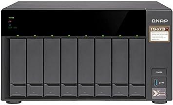 QNAP TS-873-4G - Unidad Raid con 4GB de RAM, Color Negro