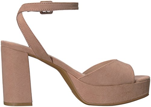 Women's Heeled dark Laundry suede Chinese Sandal nude Theresa wB5gxxC6q