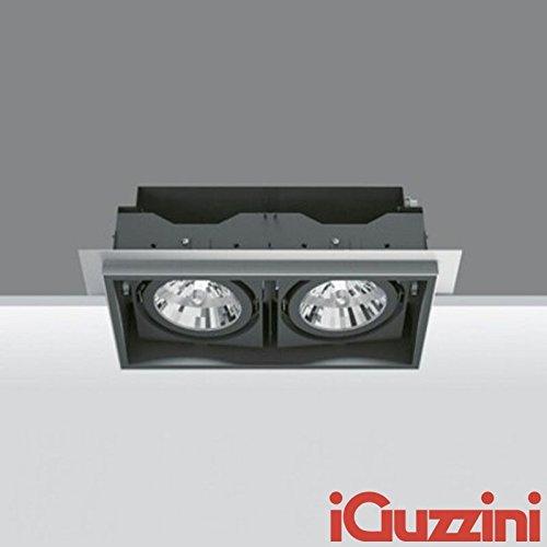 iGuzzini Deep Frame Minimal 2682.004 NERO 2x35W 2x70W Alogenuri ...