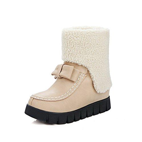 femmes pour à talons AgooLar solides Chaussures aiguilles wSYfqpx