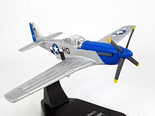 North American P-51 Mustang 1/72 Scale Diecast Metal Model