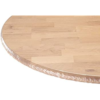 Amazon Com 42 Inch Diameter Round Furniture Clear Plastic