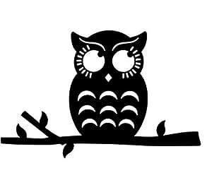 Cute Owl Apple Apple MacBook Pro Vinyl Decal sticker for Apple 15 inch