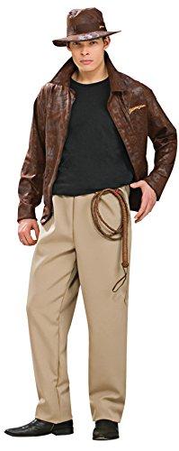 Deluxe Indiana Jones Adult Costume - (Indiana Jones Costumes Jacket)