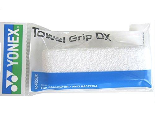 Yonex Badminton Towel Grip AC402DX White