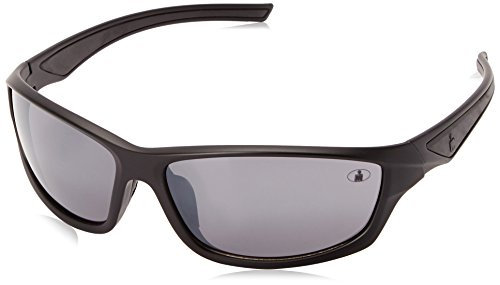 Ironman Men's Relentless Wrap Sunglasses, Matte Black, 63 - Ironman Sun Glasses