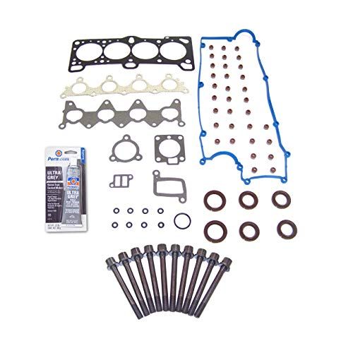 Head Gasket Set Bolt Kit Fits: 06-11 Hyundai Accent Kia Rio 1.6L DOHC 16v