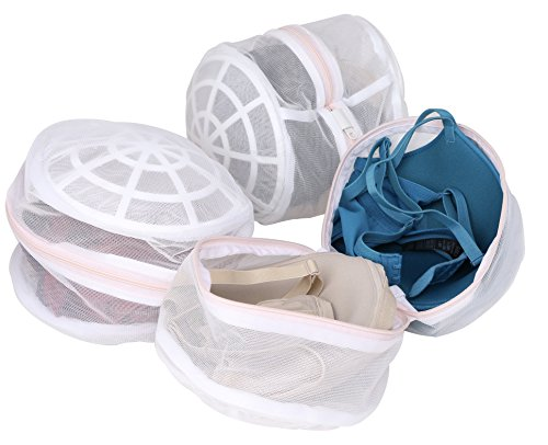 Laundry Science Premium Bra Wash Bag for Bras Lingerie and Delicates Set of 3 Bra Washing Bag