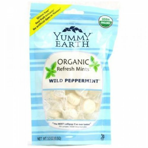 Yummy Earth Drops Og2 Wild Peppermint 3.3 Oz by YummyEarth