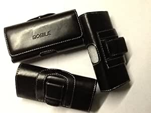 LEATHER CASE FOR TOSHIBA TS605 CLIP AND BELT LOOOP