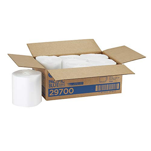 Pacific Blue Select Disposable Surface System Towel Refill by GP PRO (Georgia-Pacific), 29700, Centerpull Roll, White, 90 Towels Per Roll, 6 Rolls Per Case