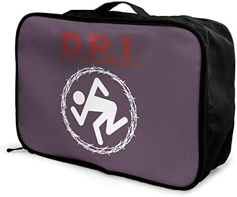 アレンジケース D.R.I. ディーアールアイ 旅行用トロリーバッグ 旅行用サブバッグ 軽量 ポータブル荷物バッグ 衣類収納ケース キャリーオンバッグ 旅行圧縮バッグ キャリーケース 固定 出張パッキング 大容量 トラベルバッグ ボストンバッグ