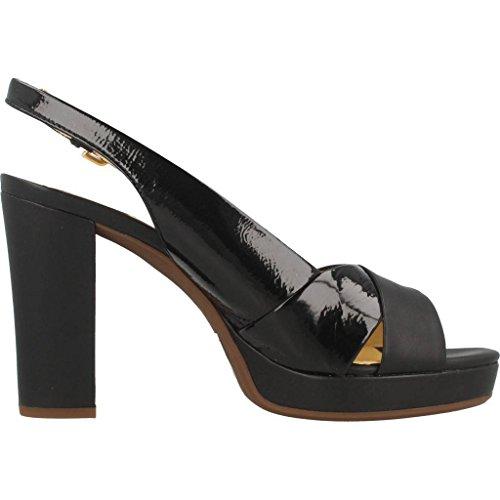 D724LC Geox High Black 06758 Heeled Women Sandals 00rvwdq