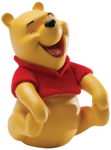 Enesco Disney Showcase Laugh with Winnie the Pooh Figurine, 3-Inch
