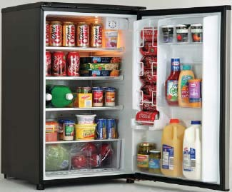 5. Compact All-Refrigerator 4.9 cu. ft. Auto-Defrost