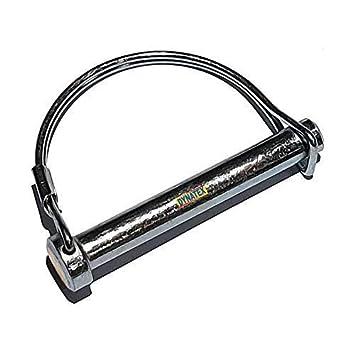 2 Motocultor Clip 5/16 (8mm) X 68mm Largo Retención Pasador ...