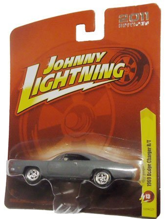 Johnny Lightning 2011 Editions 1969 DODGE CHARGER R/T (Matte Gray), R13, Death Proof