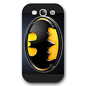 - Customized Personalized Black Frosted For SamSung Galaxy S3 Case Cover The Joker, Batman Logo, Batman For SamSung Galaxy S3 Case Cover Only fit For SamSung Galaxy S3 Case Cover