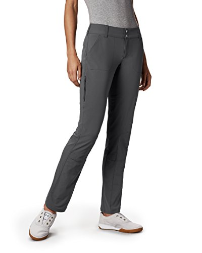 Pants Womens Lined (Columbia Women's Saturday Trail Pant, Grill, 6/Short)