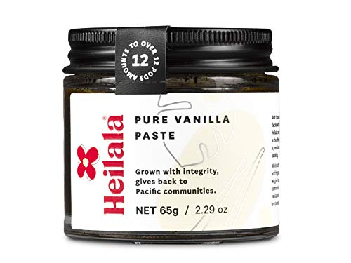 Vanilla Paste, 65g - Vanilla Bean Paste for Baking - Heilala Vanilla, the Choice of the Worlds Best Chefs & Bakers, Using Sustainable, Ethically Sourced Vanilla, Multi-Award Winning